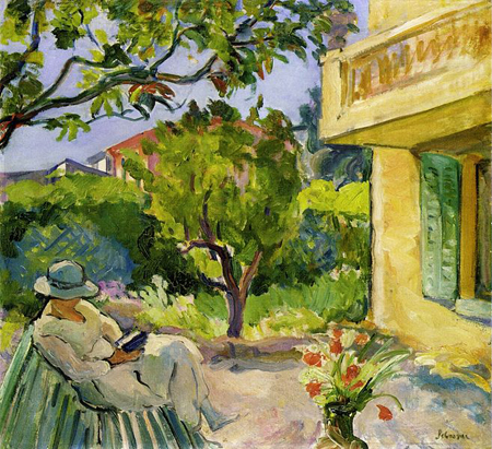 garden painting by Lebasque