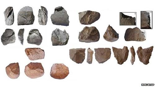 pre-human tool making. via BBC news