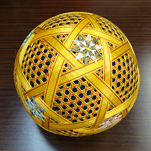 Japanese temari ball.