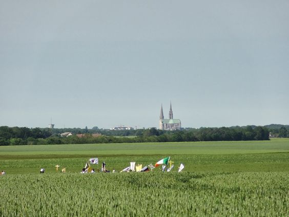Irish pilgrimage to Chartres Cathedral. via irishpilgrimagechartres.blogspot