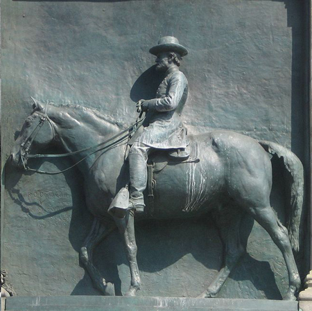 'Grant',_bronze_sculpture, by William_Rudolf_O'Donovan; horse, _Thomas_Eakins. via https://en.wikipedia.org/wiki/Soldiers%27_and_Sailors%27_Arch#/media/File:%27Lincoln_and_Grant%27,_bronze_sculptures_by_William_Rudolf_O%27Donovan_(men)_%26_Thomas_Eakins_(horses),_1893-1894,_Grand_Army_Plaza,_Brooklyn,_New_York_City.JPG