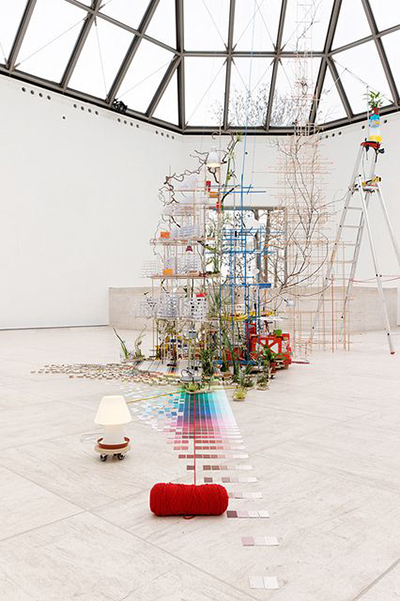 Sarah Sze not randomness