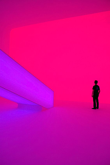 James Turrell light installation. via Pinterest. https://www.pinterest.com/pin/311381761716186745/
