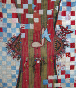 Highbrow textie art, Diane Savona